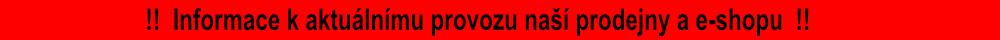 Informace k aktuálnímu provozu 2020/2021