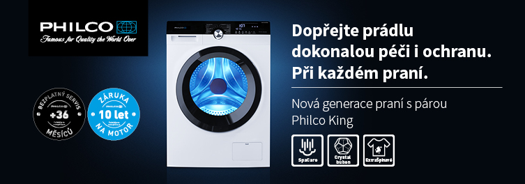 Philco pračky KING