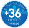 Philco 24 záruka + bezplatný servis 36 měsíců