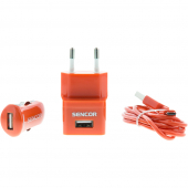 SCO 515-000RD USB KIT 1M/WALL/CAR SENCOR
