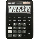 Kalkulačka SENCOR SEC 372T/BK černá