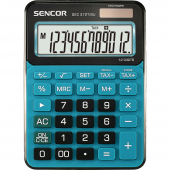 Kalkulačka SENCOR SEC 372T/BU modrá