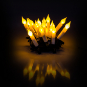 RXL 231 svíčky 20LED 5+5m WW TM RETLUX