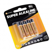 Baterie AAA GoGEN SUPER ALKALINE, LR03, blistr 4ks