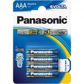 Baterie AAA LR03 4BP Evolta alk PANASONIC
