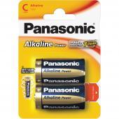 Baterie R14 2BP C Alk Power alk PANASONIC