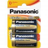 Baterie R20 2BP D Alk Power alk PANASONIC