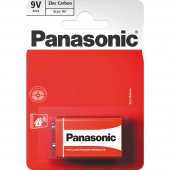 Baterie 9V 6F22 1BP Red zn PANASONIC