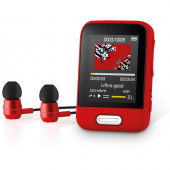 MP3/MP4 PLAYER SENCOR SFP 7716 RD 16GB