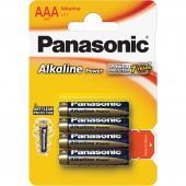 Baterie AAA Panasonic LR03 4BP Alk Power alk