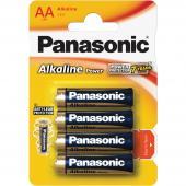 Baterie AA LR6 4BP Alk Power alk PANASONIC