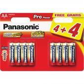 Baterie AA LR6 8BP Pro Power alk PANASONIC