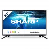 Televize SHARP 32BC2E(T) SMART TV 200Hz, T2/C