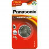Baterie CR-2430 1BP Li PANASONIC