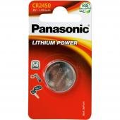 Baterie CR-2450 1BP Li PANASONIC