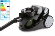 Bezsáčkový vysavač 2000W Eco - DOMO DO7271S, černá metalíza, příkon: 1000 W