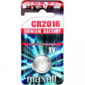 CR2016 1BP Li MAXELL
