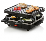 Raclette gril DOMO DO9147G, pro 4 lidi, 600W