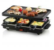 Raclette gril pro 6 - DOMO DO9188G, pro 6 osob, 800W