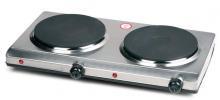 Vařič  dvopuplotýnkový nerezový - DOMO DO 311 KP, elektrický
