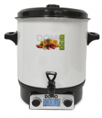 Zavařovací hrnec smaltový s LCD - DOMO DO42324PC