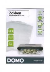 Sáčky do vakuové svářečky DOMO DO327L - malé, 22 x 30 cm, 50ks, BPA free