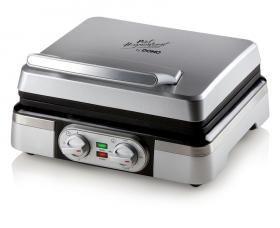 Vaflovač 4x7 s termostatem - edice Piet - DOMO DO9149W
